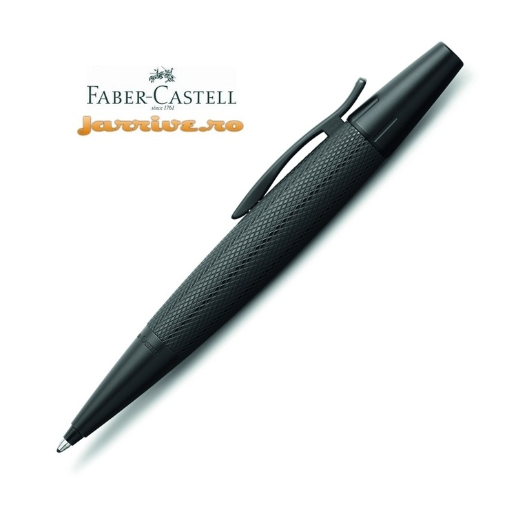 E-motion Pure Black - Twist Ballpoint (new 2013)