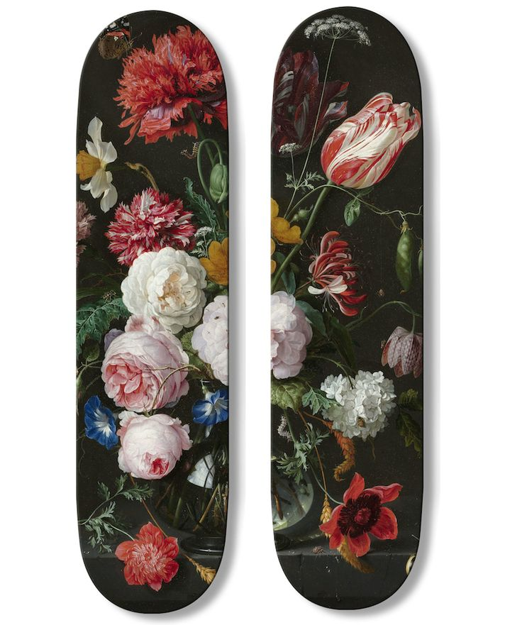 the '504' series features works by jan davidsz de heem (1606-1684) and gustav klimt (1862-1918); each edition is limited to 10, and is handmade and individually numbered by UWL in france.