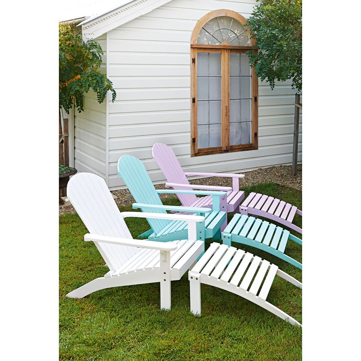 Coast Outdoor Deck Chair and Ottoman from Domayne Australia. theguideonline.com.au