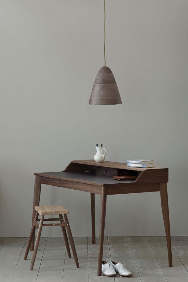 simple desk / browns /greys