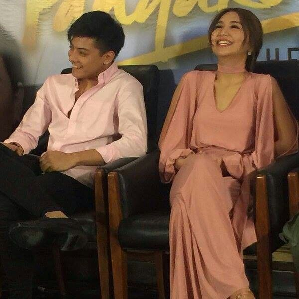 "This is the handsome Daniel Padilla and the pretty Kathryn Bernardo sharing a laugh together during the Press Conference for the Finale Week of Pangako Sa 'Yo at the ABS-CBN Compound in Quezon City last February 6, 2016. Indeed, KathNiel is my favourite Kapamilya love team, they're amazing Star Magic talents, and ""Pangako Sa 'Yo"" is my favourite Kapamilya telenovela. #KathrynBernardo #TeenQueen #DanielPadilla #KathNiel #KathNielBernaDilla #PangakoSaYo"
