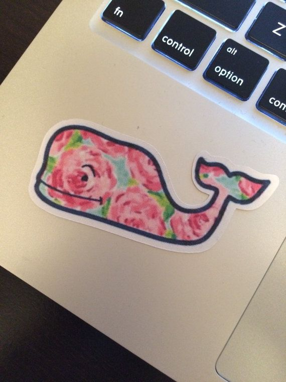 First Impression Vineyard Vines Sticker by diybysarah. Explore more products on http://diybysarah.etsy.com