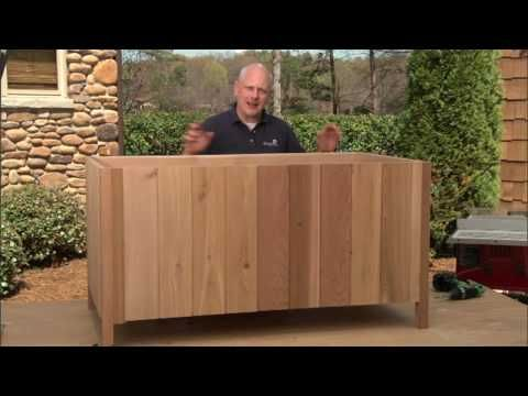 how to build a deck storage box part 2 add cladding and trim