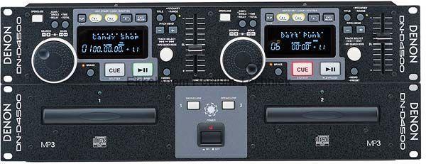 Denon DN-4500 dubbele mp3/cd speler (up-date DN4000)