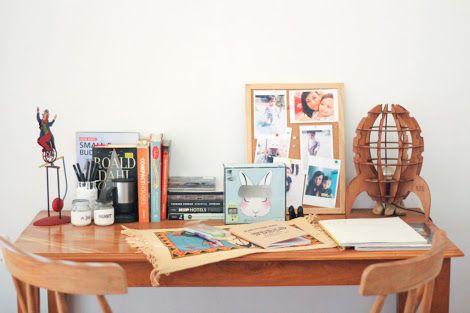 Desk styling by HandyBunny  #HandyBunny #Earthmade  #Handmade
