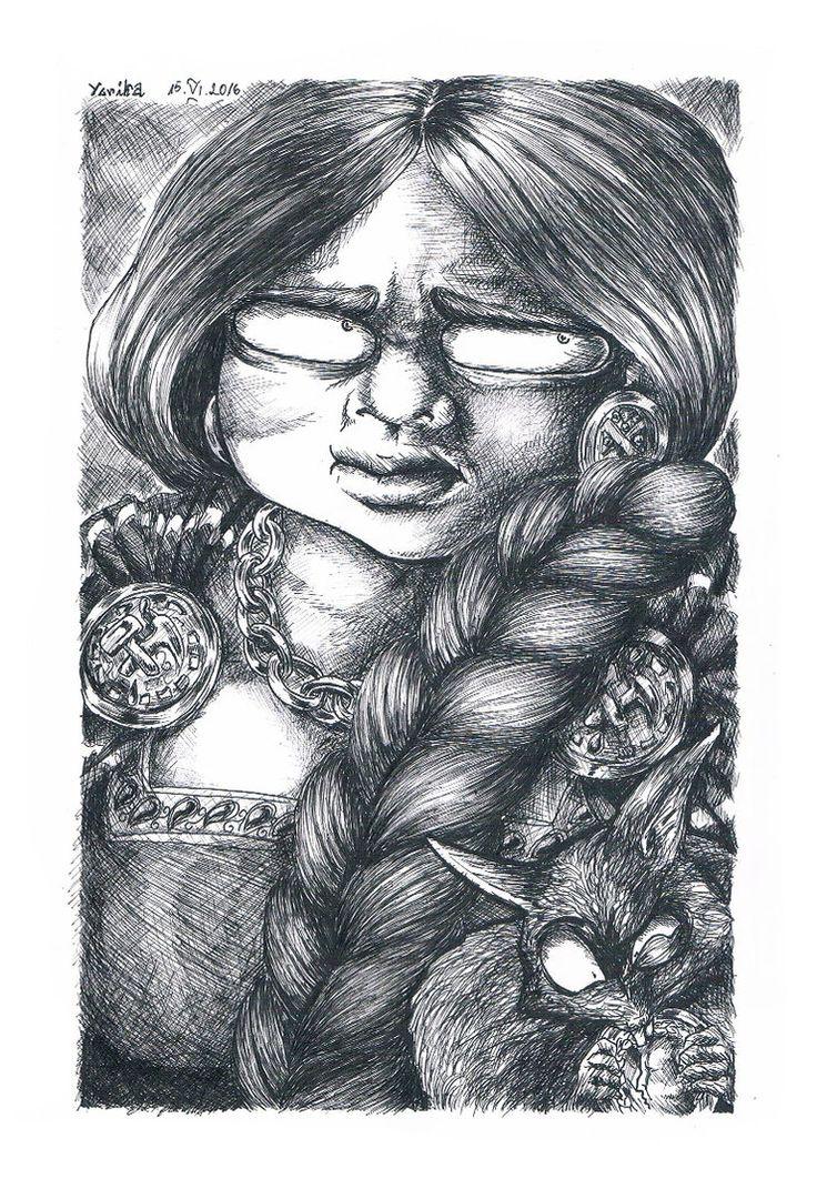 Astrid Skaggs. Dwarf merchant, member of Scoia'tael commando.