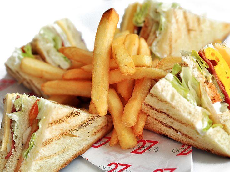 Chiken Club Sandwich