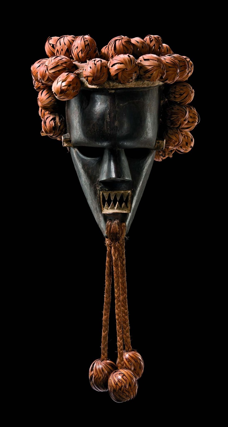 "Africa | Mask ""kasangu"" from the Salampasu people of DR Congo 