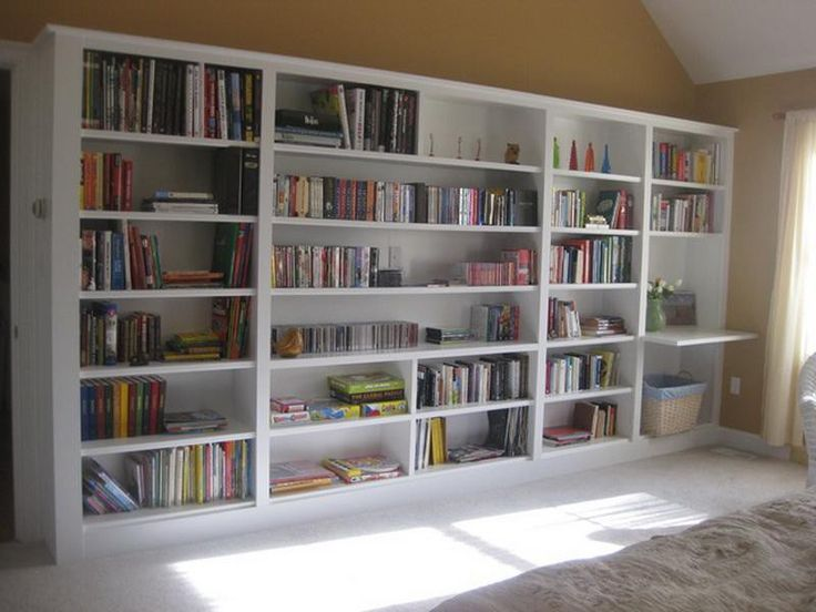 How To Build Built In Bookcases ~ http://lovelybuilding.com/get - 28 Best Build Built In Bookcases Images On Pinterest Built In