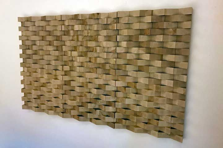 Pannelli acustici modulari in Faggio