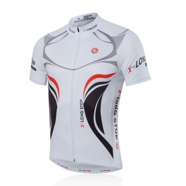 New Men Team Cycling Long Sleeve Tops Bicycle Jersey Racing Clothing Sportswear