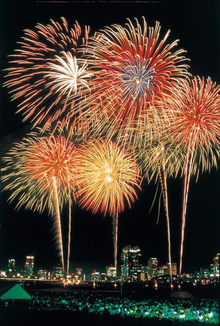 Fireworks - 淀川花火大会 #Osaka #Japan #festival osaka Japan festival