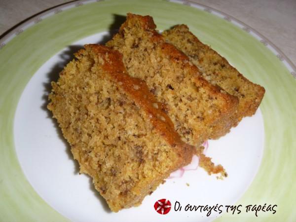 Κέικ κολοκύθας #sintagespareas