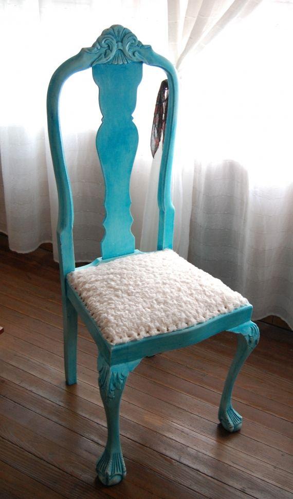 Pin by daniola castellanos on muebles pinterest - Sillas antiguas restauradas ...