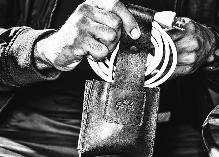 Keep Your Cords and Chargers Organized With The Goods Loop and Crew Organizers  #Gentleman #Lifestyle