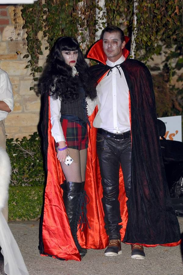 Le costume de Gwen Stefani et Gavin Rossdale