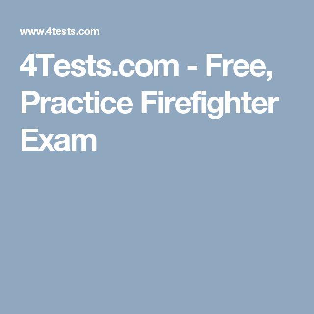 4Tests.com - Free, Practice Firefighter Exam
