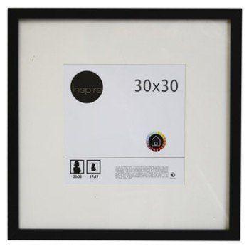 Cadre Lario, 30 x 30 cm, noir-noir n°0 | Leroy Merlin