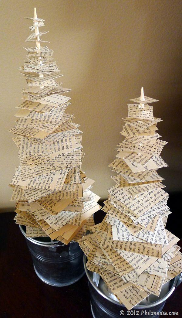 Easy DIY Tabletop Christmas Tree Decorations