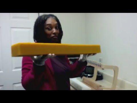 Cutting Oversized Soap Logs w/ Nandi - YouTube