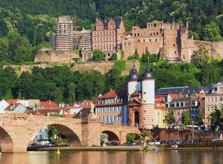 Heidelberg Castle, Germany jigsaw puzzle in Bridges ...