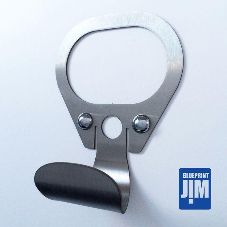Retro Ring pull coat hook | Blueprintjim