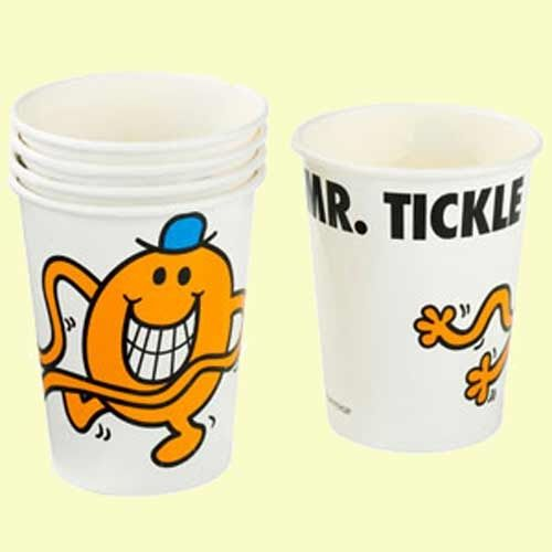 Mr Men Party Cups
