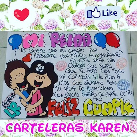 Carteleras Karen DQ (@carteleraskaren) | Instagram photos and videos