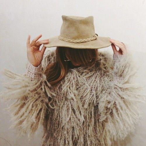 Shaggy cowgirl.: