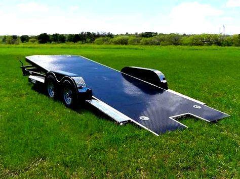 Car Hauler Trailer - Texas Trailer Supply  Model CHT0005 - Picture 4