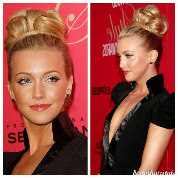 I love this updo. Looks like a crown!