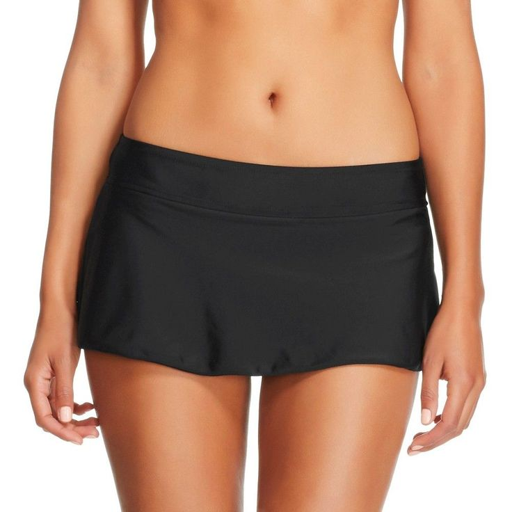 Women's Swim Skirt - Black -XS - Merona, Size: XS