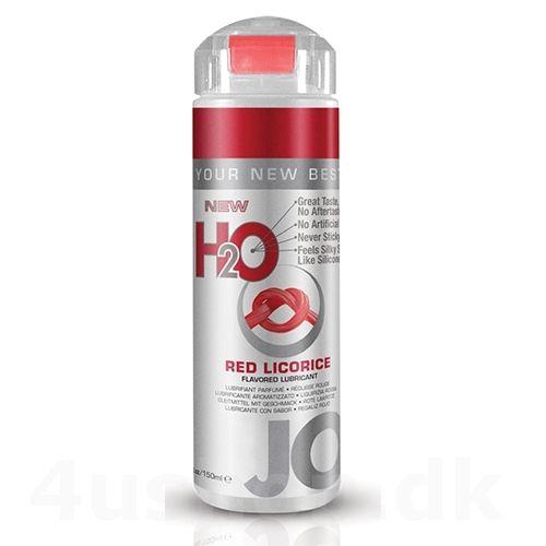 JO H2O Røde slik stænger - Red Licorice - 150 ml