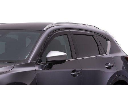 awesome Amazing 2017 2018 Mazda CX5 Window side deflectors set of  4 oem new!!! 2017 2018