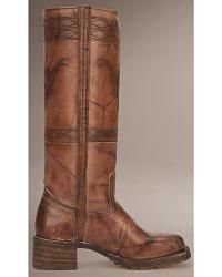 Frye Campus Stitching Horse Riding Boots - Square Toe - Sheplers