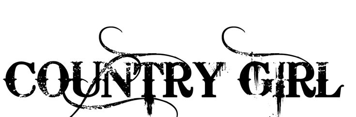 COUNTRY BOY Tattoo in Bleeding Cowboys Font 12.45px