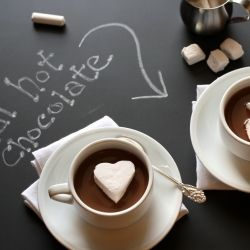 Real hot chocolate for the serious chocolate lover.