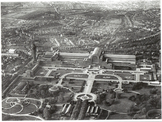 The Crystal Palace LATE NINETEENTH CENTURY Joseph Paxton Arts and Crafts Movement: London Exhibition Hall built for Works of Industry of All Nations World Fair