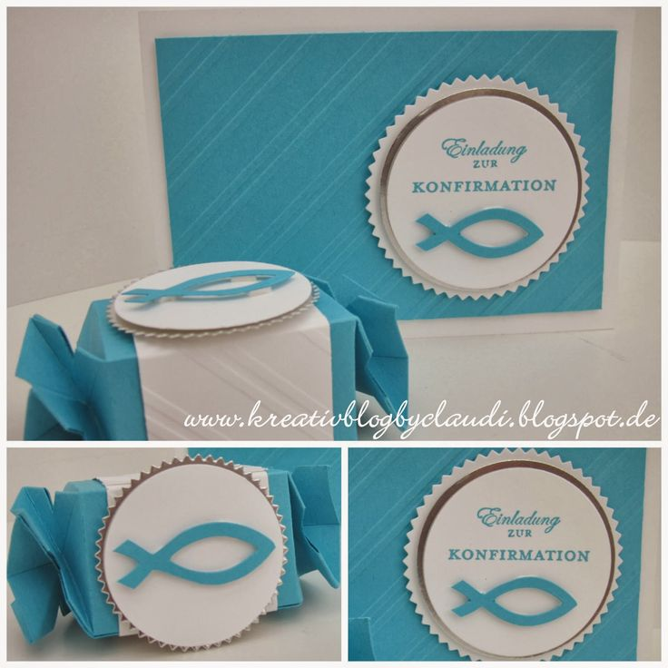 126 best stampinup konfirmation karten images on pinterest, Einladung