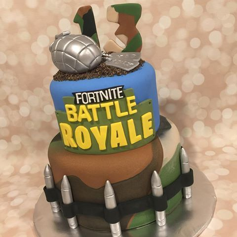Image Result For Fortnite Birthday Cake