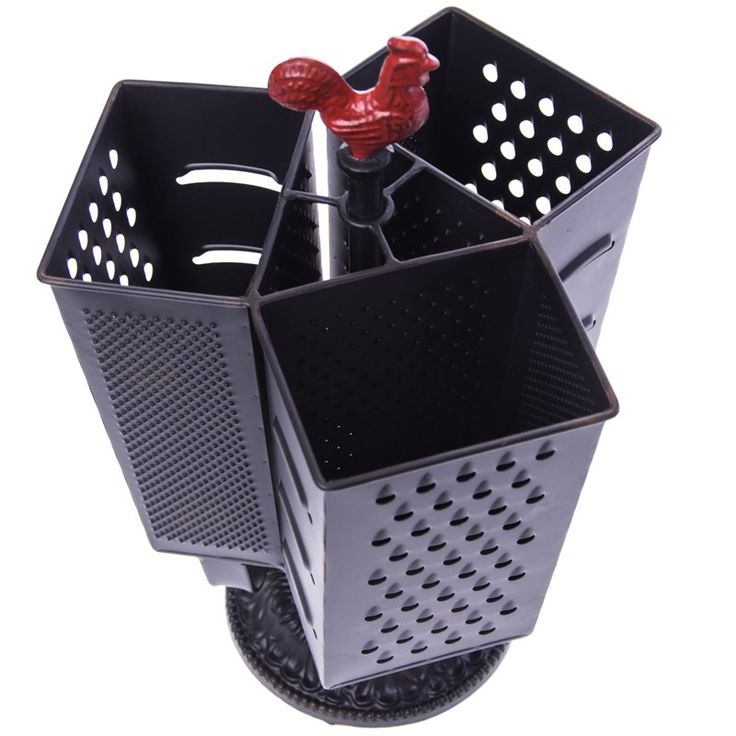 Metal Grater Caddy | Collections | Rooster  - Cracker Barrel Old Country Store