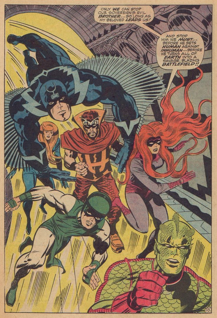 With the Inhumans movie in 2018, Marvel should adapt a style similar to Kirby's art to really capture that classic feel.  The tech and effects along with the costuming that Kirby drew, really made such a huge impact on Marvel comics (as well as others!)