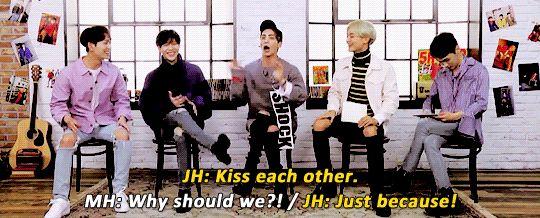 Jonghyun want 2Min to kiss