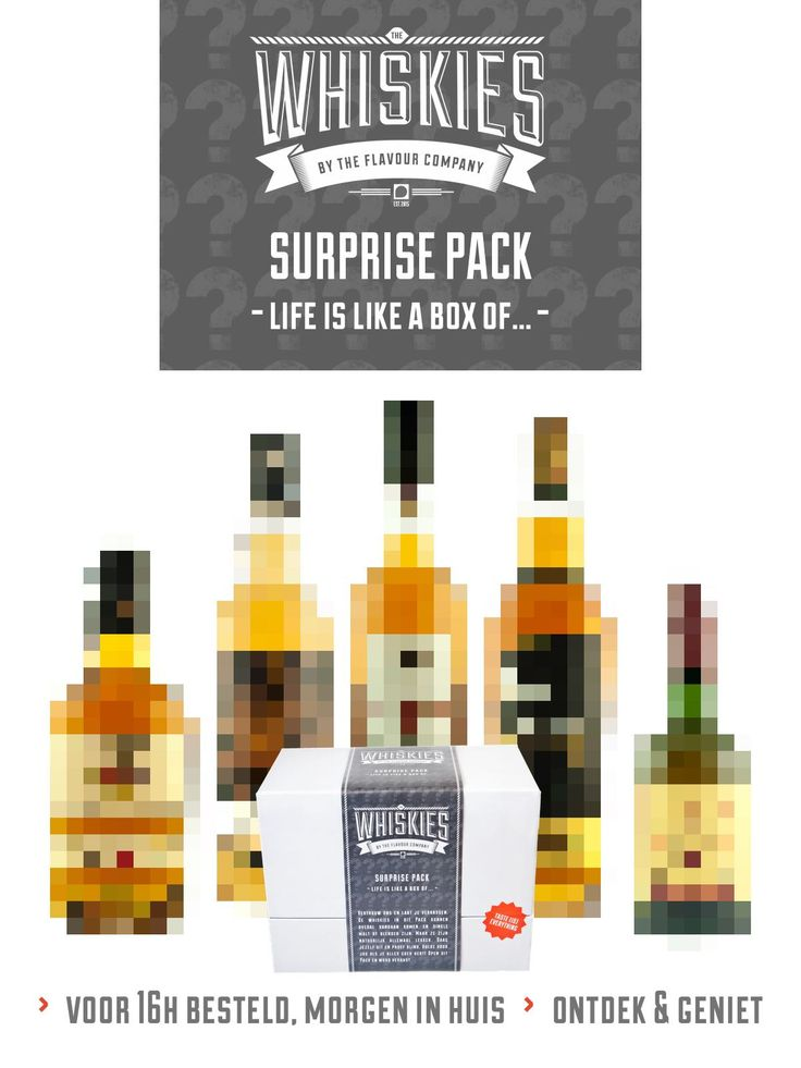 Whisky - Surprise pack