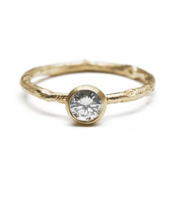 twig and diamond solitaire $1025 i think this is my dream engagement ring!