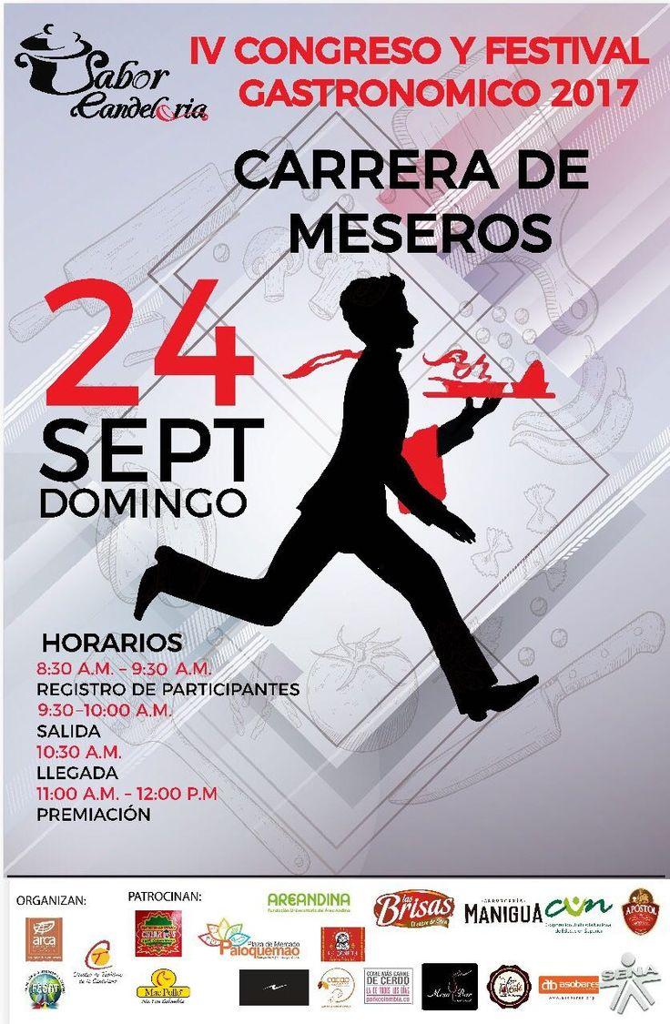 ¿Preparado para la carrera de meseros? Anímate para ser testigo de este maravilloso evento.  #EncontrasteLaCandelaria #SaborCandelaria #SaborColombia 🍽️