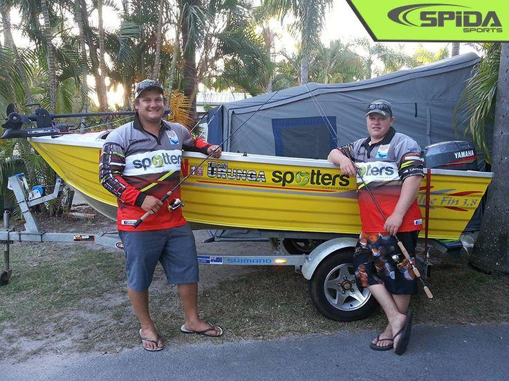 Tournament Fishing Shirts for Team Urunga http://spidasports.com.au/sublimated-fishing-shirts/