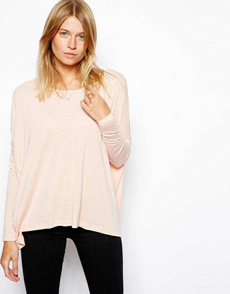 ASOS Easy Top with Long Sleeves
