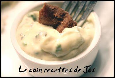 Le coin recettes de Jos: SAUCE MAYONNAISE AUX ÉPICES À STEAK (pour fondue e...