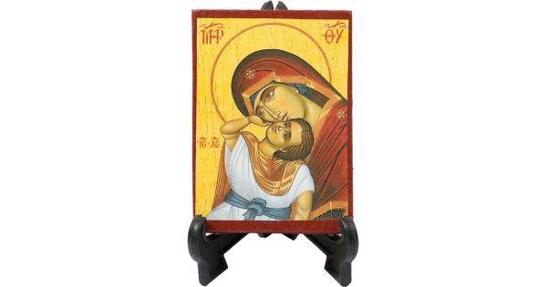 Εικόνα μπομπονιέραδιαστάσεων 10χ7,5με κεραμιδί περίγραμμα.Διατίθεται με όλους τους Αγίους.